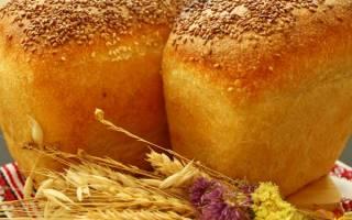 Формовой хлеб рецепт