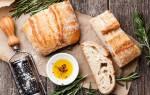Хлеб чиабатта рецепт