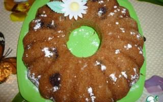 Пирог из сухофруктов из компота