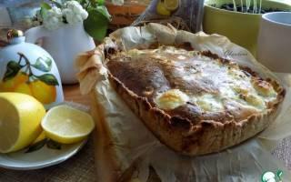 Пирог с цветной капустой