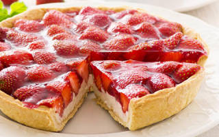 Пирог с клубничным вареньем рецепт