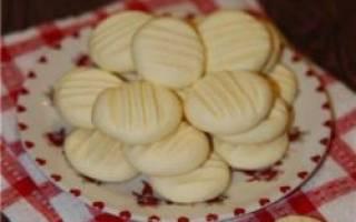 Печенье из кислого молока рецепт