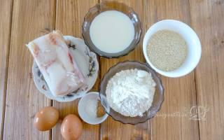 Филе минтая в кляре на сковороде