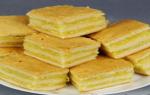 Лимонно апельсиновое пирожное