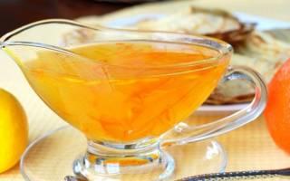 Соус апельсиновый к мясу