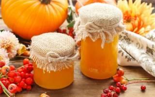Тыквенный мед приготовление в домашних условиях