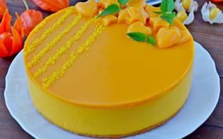 Торт с тыквой рецепт