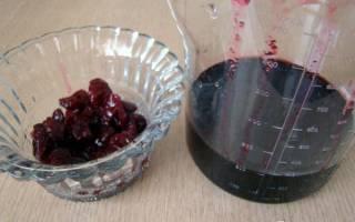 Торт с вишневым вареньем