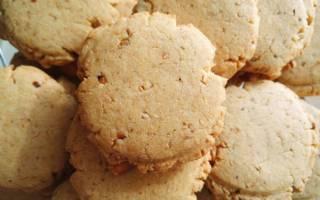 Печенье с арахисом рецепт