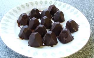Шоколадные конфеты из какао