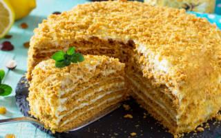 Простой торт с медом