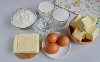 Торт наполеон на молоке