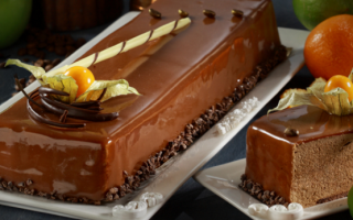 Поливка шоколадная для торта