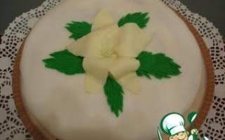 Торт мраморный рецепт