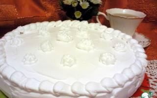 Пирог три молока