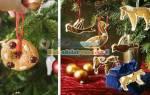 Украшение новогоднего печенья