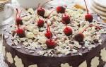 Торт кофейно шоколадный