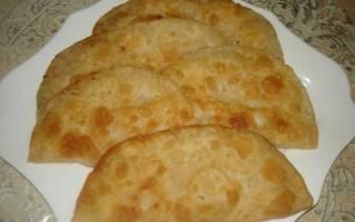 Чебуреки рецепт как на рынке