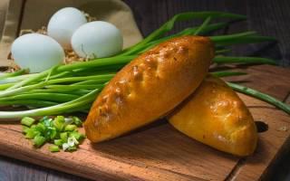 Пирожки с луком и яйцом рецепт