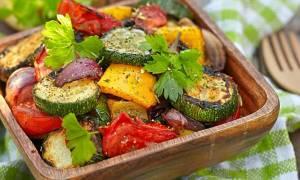 Овощи тушеные без масла