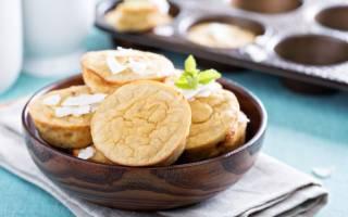 Рецепт кексов с начинкой