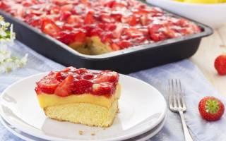 Пирог с лесными ягодами рецепт