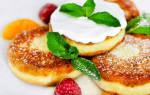 Сырники рецепт с разрыхлителем