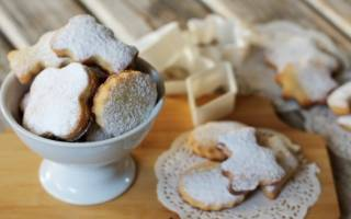 Печенье на майонезе и сметане
