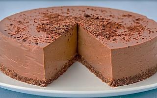 Торт суфле шоколадный