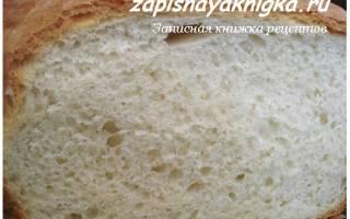 Рецепт пышного хлеба