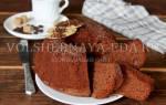 Бананово шоколадный кекс