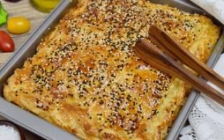 Тесто для пирога с картошкой