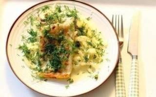 Рыба в сливочном соусе на сковороде