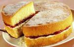 Пирог на майонезе с вареньем