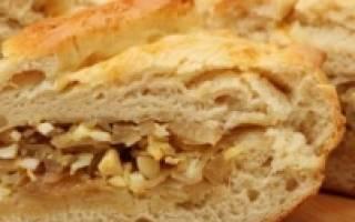 Пирог с капустой в хлебопечке