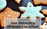 Как наносить глазурь на печенье