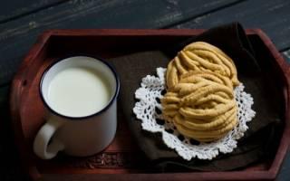 Печенье из мясорубки с майонезом