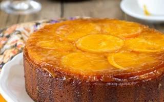 Пирог с цедрой апельсина