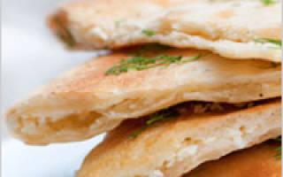 Рецепт теста для хачапури с сыром