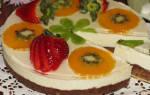 Торт без выпечки с маскарпоне