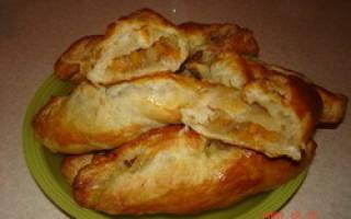 Пирожки из слоеного теста с тыквой