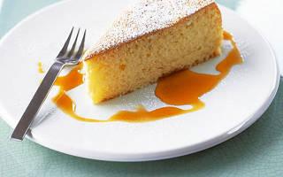 Торт без яиц на кефире