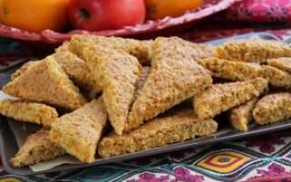 Печенье для поста рецепт