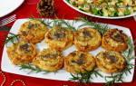 Пирог улитка с ветчиной и сыром