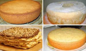 Тесто для коржей на торт