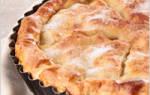 Пирог с грибами постный