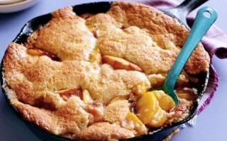 Пирог с жареными яблоками
