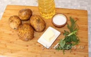Как пожарить вареную картошку