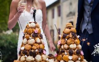 Французский торт крокембуш