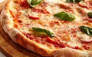 Тесто для пиццы без оливкового масла